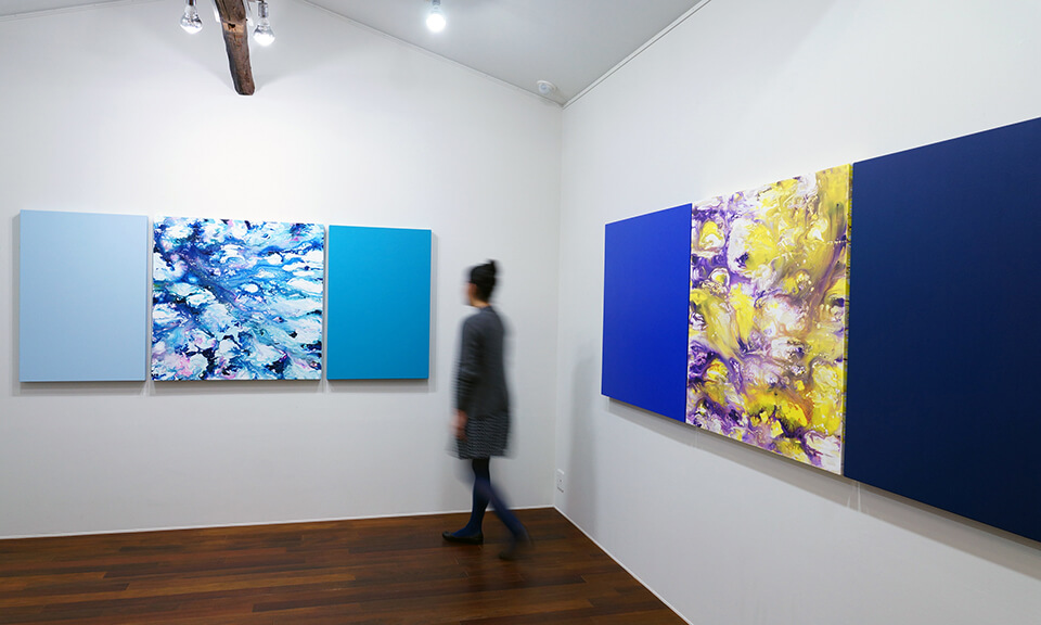 「星々の悲しみ- blue on blue 」<br />