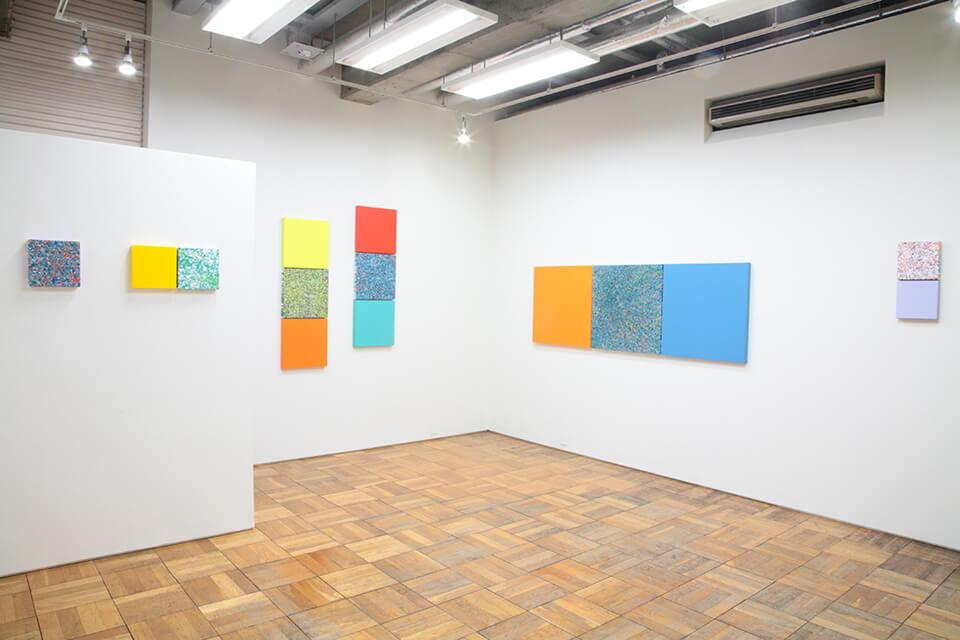 「悲しき南回帰線 tristes tropiques」<br /> 2015<br /> Exhibition site view<br /> Gallery OUT of PLACE TOKIO