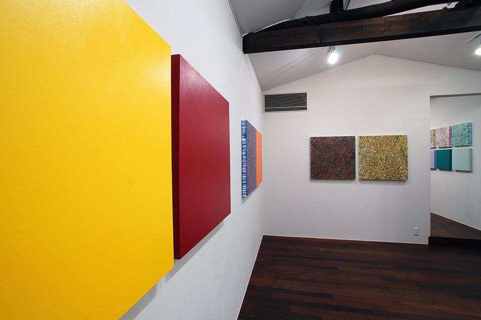 「悲しき南回帰線 tristes tropiques」<br /> 2014<br /> Exhibition site view<br /> Gallery OUT of PLACE NARA