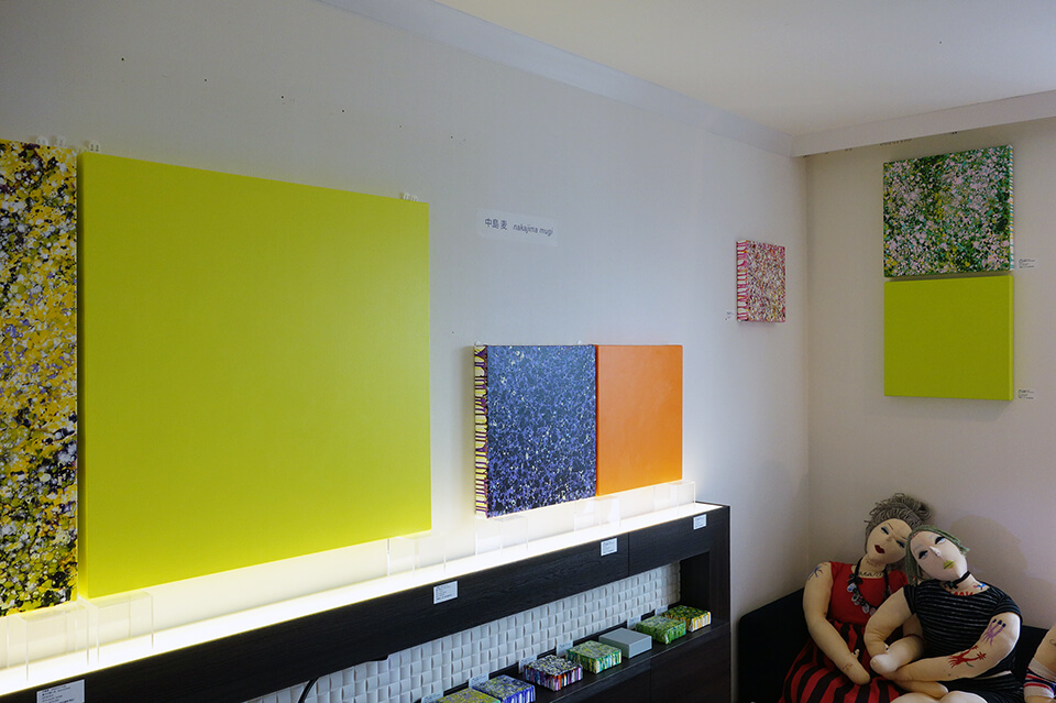 ART OSAKA <br /> 2014<br /> Exhibition site view<br /> HOTEL GRANVIA OSAKA<br /> from Gallery OUT of PLACE
