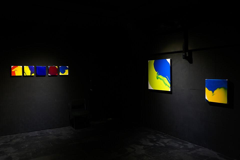 「中島麦展」<br /> 2019<br /> Exhibition site view<br /> Gallery白 kuro/大阪