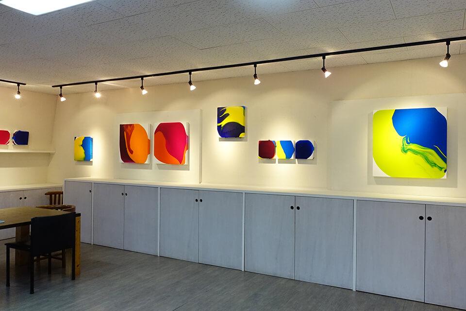 「中島麦展」<br /> 2019<br /> Exhibition site view<br /> 酢重ギャラリー/軽井沢・長野