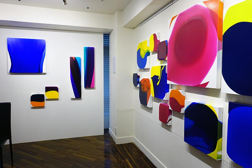 「中島麦 luminous dropping展」<br /> 2020<br /> Exhibition site view<br /> 和田画廊/東京